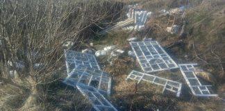 Територію поблизу Лімниці у Галицькому районі люди перетворили на сміттєзвалище ФОТОФАКТ