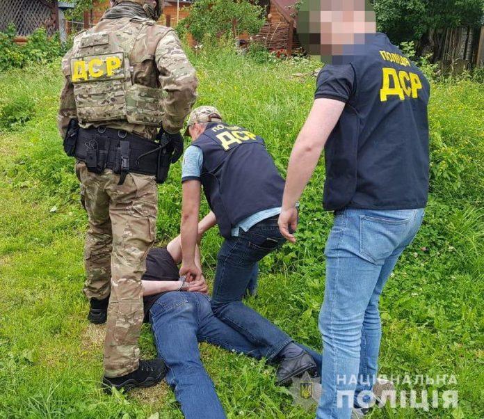 На Прикарпатті затримали кілера, підозрюваного у вбивстві кримінального авторитета ФОТО