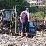 У двох районах Франківщини поліцейські спіймали крадіїв гравію ФОТО