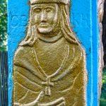 В одному із сіл Рожнятівщини зберігся унікальний пам'ятний хрест ФОТО