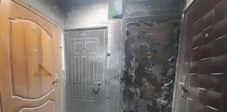 На Прикарпатті горіли господарська будівля, майстерня та вхідні двері