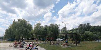 У Бурштині відкрили безкоштовну зону відпочинку