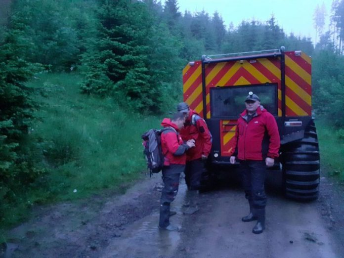 Надзвичайники шукали групу туристів, що через сильний дощ заблукали в Карпатах