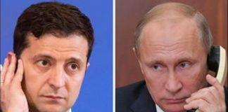 Путін обговорив із Зеленським зміни в Конституції України