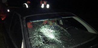 На Прикарпатті п'яний водій збив пішохода