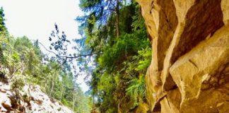 Як Гранд-Каньйон: в Яремче після повені з'явився новий витвір природи