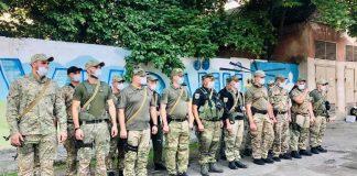 До Франківська із зони ООС повернувся зведений загін поліції ВІДЕО