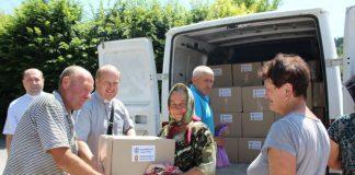 Коломийська єпархія передала допомогу постраждалим від повені