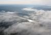 Неймовірний світанок в Дністровському каньйоні показали з висоти