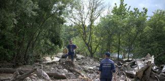 У Ланчинській ОТГ на Франківщині турецька фірма безкоштовно відремонтує пошкоджену стихією дорогу