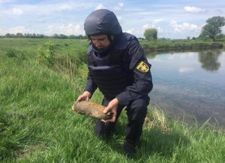 На Березі Бистриці Солотвинської виявили небезпечну знахідку
