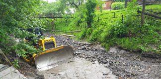 У Верховинському районі тривають роботи із ліквідації наслідків повені