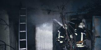 В ніч на понеділок безхатченки вчинили пожежу у центрі Івано-Франківська