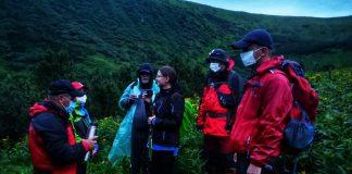 В районі гори Ягідна заблукала туристична група зі столиці