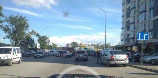 У Франківську на Набережній сталася ДТП, є постраждалі