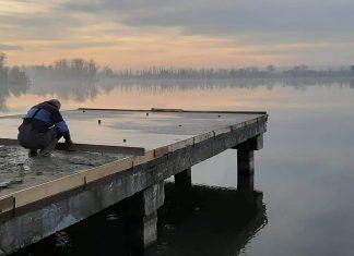 Пірси на міському озері в Івано-Франківську підсвітять за один мільйон 923 тисячі гривень