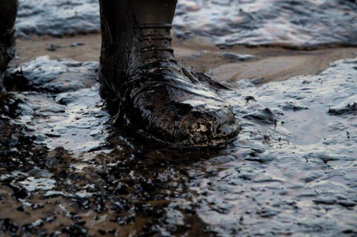 На Прикарпатті зафіксували масовий витік нафти ВІДЕО