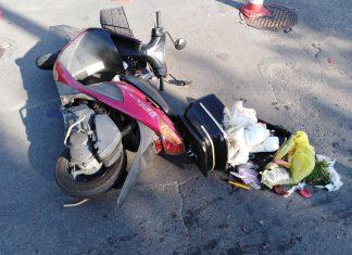 На Прикарпатті у ДТП зіткнулися два скутера - поліція вилучила у власників обидва