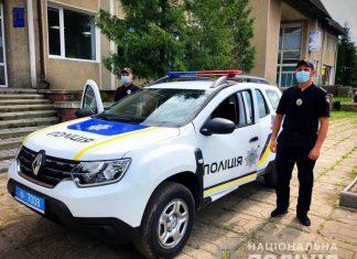 Прикарпатські поліцейські отримали нове службове авто