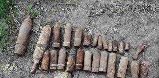 В Лісній слобідці знову виявили майже півсотні вибухонебезпечних предметів