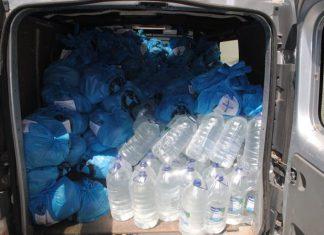 Волонтери передали допомогу людям, які постраждали від повені