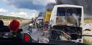 У Польщі в жахливу аварію потрапив автобус із десятками українців ФОТО