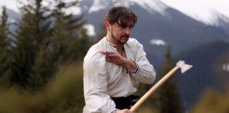 Як у горах розвивають давнє бойове мистецтво гуцулів ВІДЕО