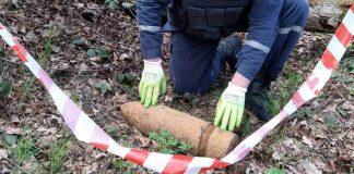 В Івано-Франківській області річка вимила на берег смертоносну знахідку