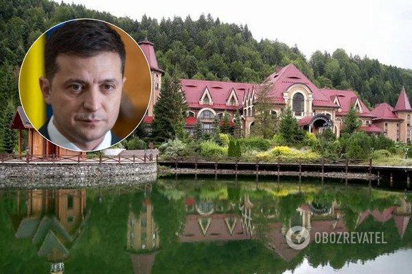 В прикарпатській резиденції Зеленського незаконно проводять весілля. Відео