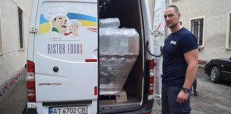 Благодійники забезпечили продуктами харчування постраждалих від паводку прикарпатців ВІДЕО