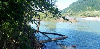 На Прикарпатті річка розмила газопровід, без газу залишилися два села