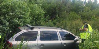 У Надвірнянському районі легковик на великій швидкості злетів у кювет, як наслідок - двоє людей травмовані