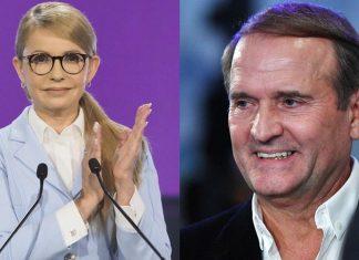 Банк родини Тимошенко обслуговує гроші Медведчука. Відео