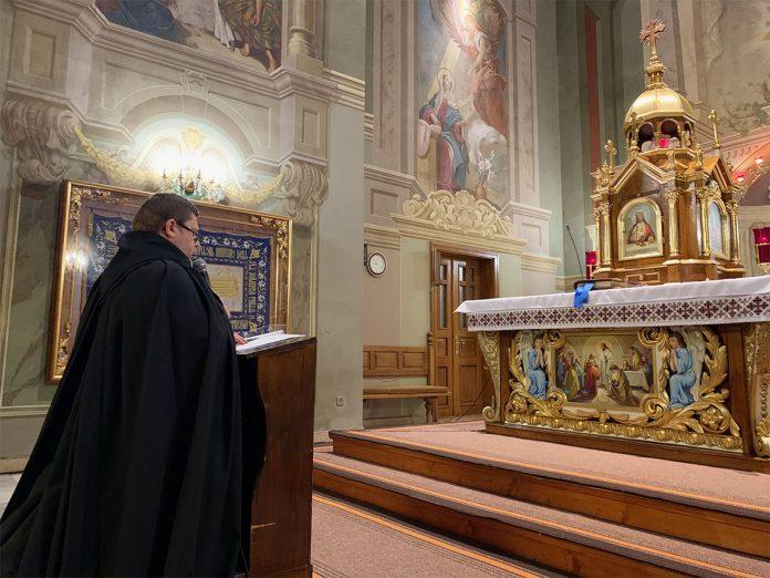 У Гошеві відбулася онлайн-проща з нагоди свята Пресвятої Богородиці