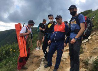 Прикаарпатські рятувальники у Карпатах надали допомогу декільком туристам з різних куточків України