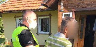Прикарпатець, у якого виявили плантацію коноплі, стріляв у поліцейських і погрожував гранатою ФОТО