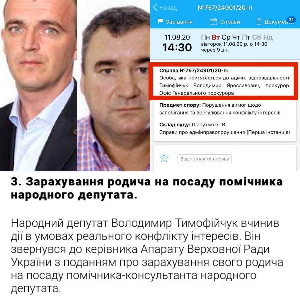 Прикарпатський горе-нардеп опинився в епіцентрі корупційного скандалу