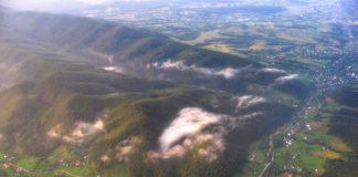 В мережі з'явились неймовірно красиві фото Карпат з висоти пташиного лету ФОТОРЕПОРТАЖ