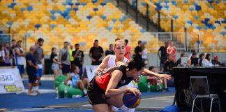 Команда з Франківська здобувала друге місце на столичному етапі з баскетболу 3х3