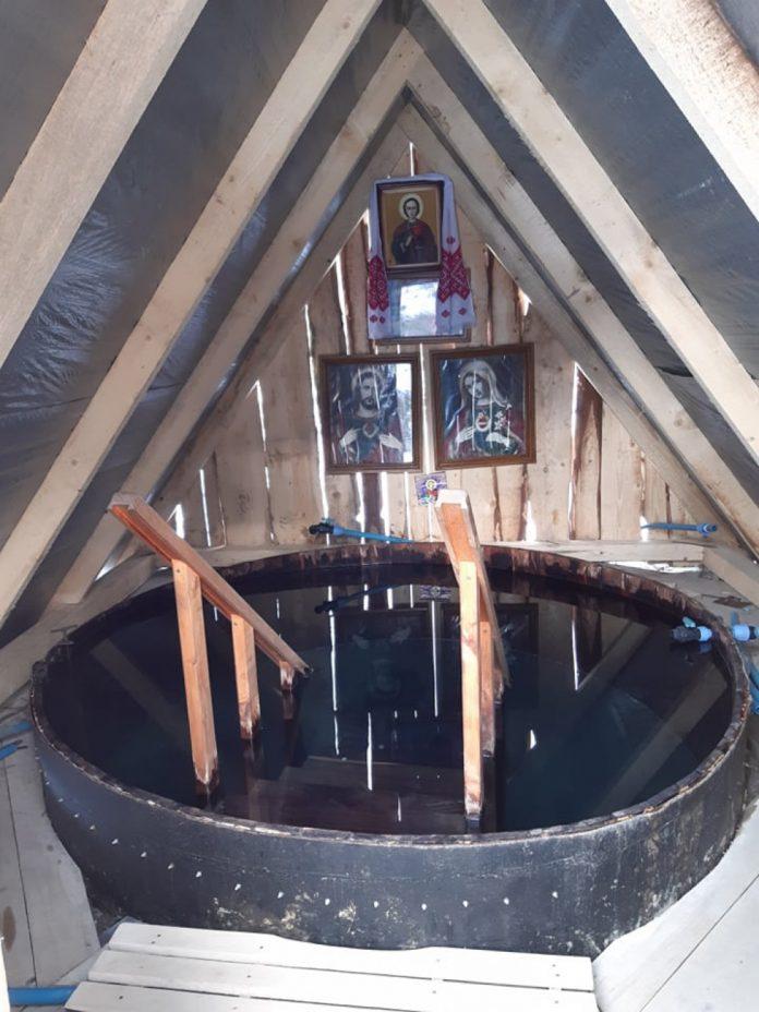 На Прикарпатті діє купальня святого Пантелеймона