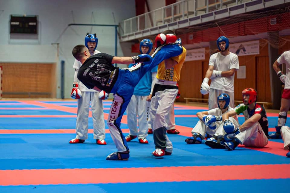Франківці провели в Чехії майстер-клас із кікбоксингу