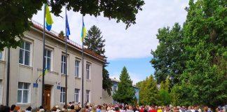 Сотні мешканців Городенки протестували проти «червоної зони» району