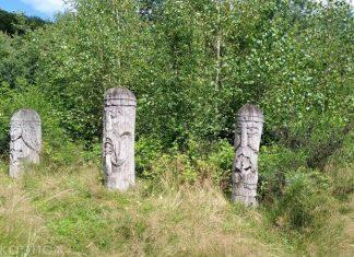 Дерев'яні ідоли та камінь-жертовник: у Карпатах знаходиться унікальне «Місце сили»
