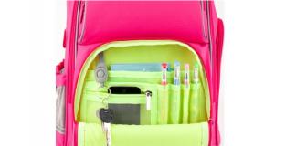 Огляд рюкзаків для молодших школярів