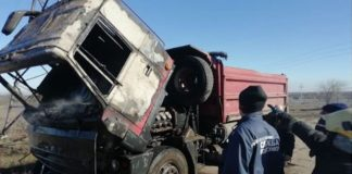 За невстановлених обставин цієї ночі на Прикарпатті спалахнула вантажівка