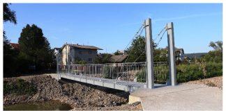 В передмісті Івано-Франківська відновили два мости, які пошкодила повінь