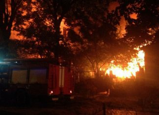 У ніч на середу в одному із прикарпатських сіл трапилася пожежа - загинула свиня і декілька десятків курей