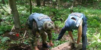 В курортному Микуличині виявили авіаційну бомбу