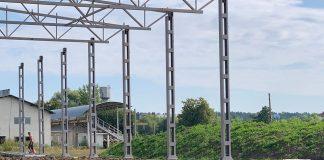 На Франківщині споруджують новий великий будівельний комплекс