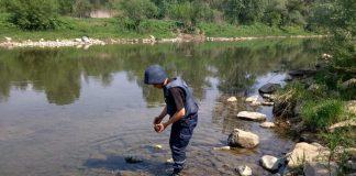 На березі ріки Прут, у курортному Микуличині, виявили дуже небезпечну знахідку